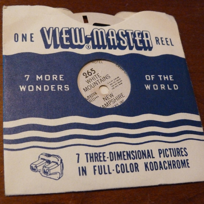Single Reel View-Master Reel 246 Denver and Denver Mountain Parks Colorado