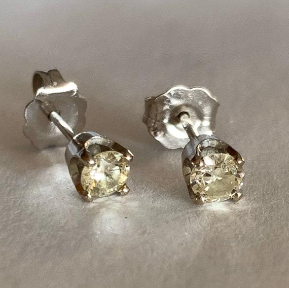 Diamond Stud Earrings   14k - image 6