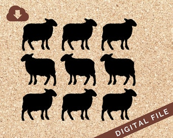 Princess Diana Inspired Sheep Sweater Pattern | SVG Cricut File, PNG , JPG Clipart For Paper Projects, Decals, Scrapbook Design