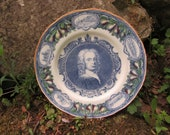 ROYAL WORCESTER Dr. John Wall Multi Colour Portrait Plate 10 quot Royal Worcester for Woodward 39 s China Department, Vancouver Canada. Example 3