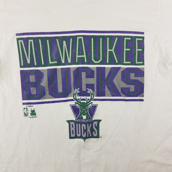 Vintage 1990s Milwaukee Bucks NBA Basketball Sale… - image 2
