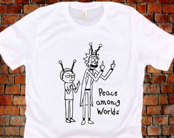 Wubba Lubba Dab Dab Unisex T-Shirt Adult Pop Culture Graphic Tee Nerdy Geeky Apparel