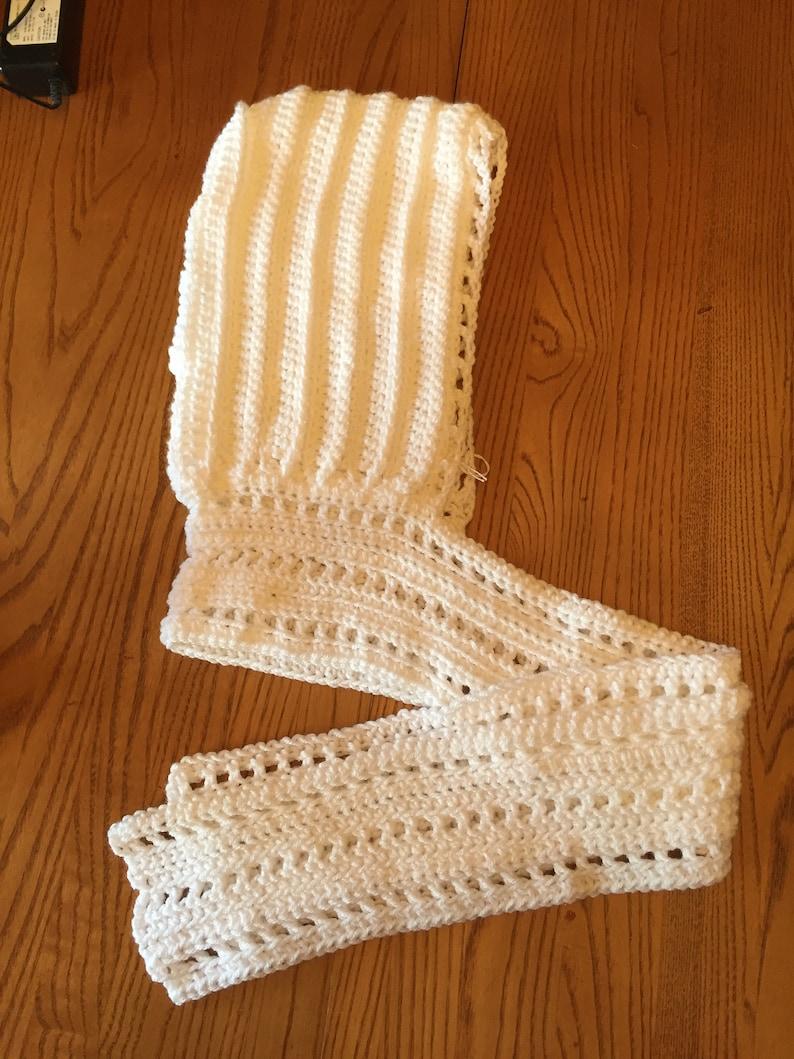 Ladies hand crocheted Scoodie