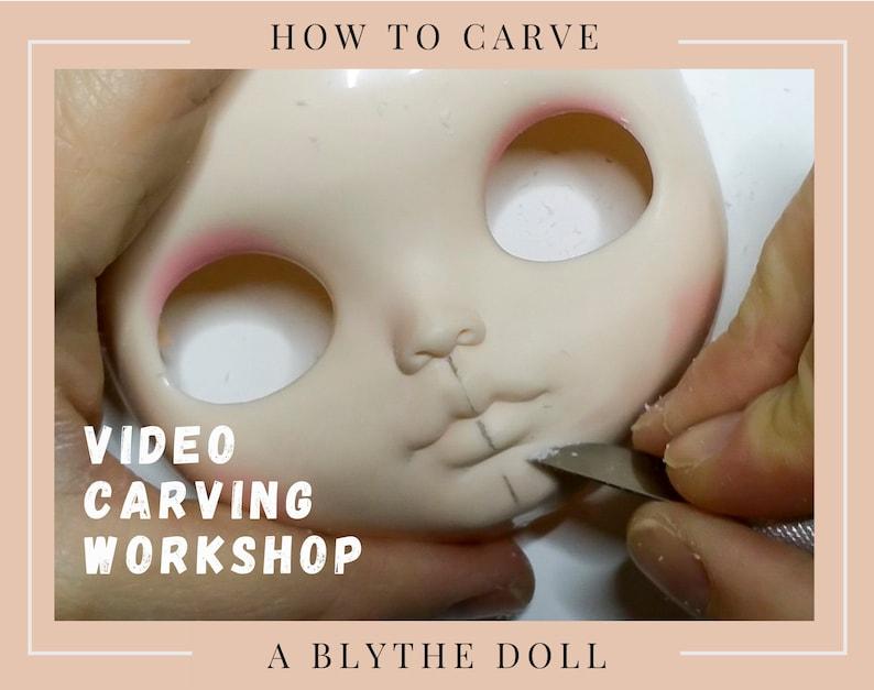 Blythe Tutorial Blythe Carving Tutorial Blythe Doll Sculpt image 0