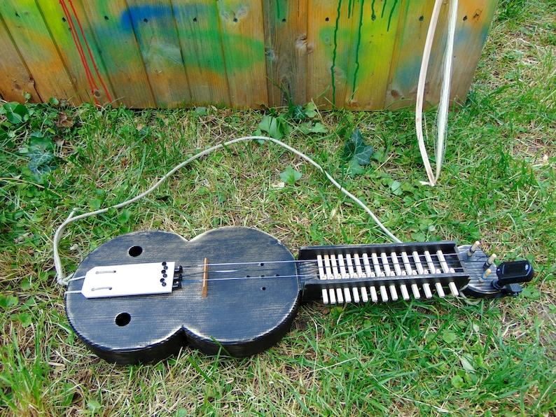 Budget Keyed Fiddle Key Fiddle Moraharpa Organistrum Siena image 0
