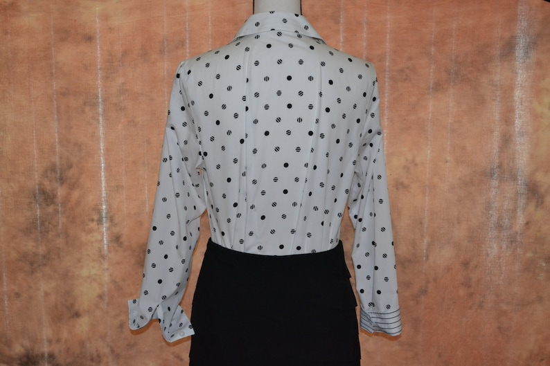 90s Working Girl Vintage White House Black Market Business Set Womens White House Black Market Sz M Skirt and Blouse Suit Set