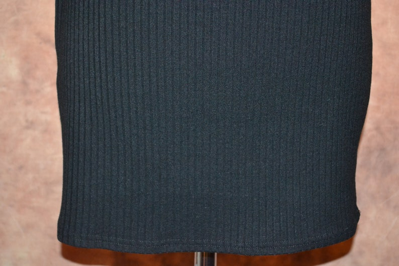 MinkPink Black Button Front Women/'s Shirtdress Ribbed Plunging Neckline Mini Dress