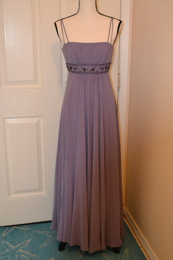 Vintage Bridesmaid Dress Prom Dress Formal Dress Lavender Dress Vintage Davids Bridal Formal Gown Mother of the Bride Dress For Prom Size 2