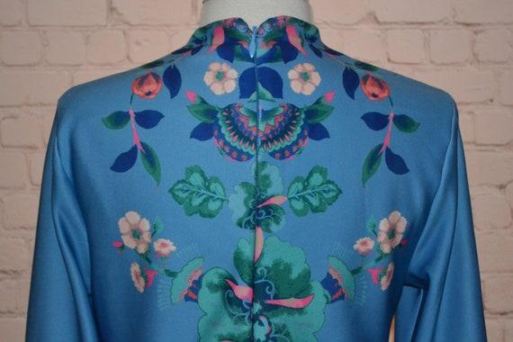 New York & Company Vintage 70 - 80s Dress Groovy … - image 10
