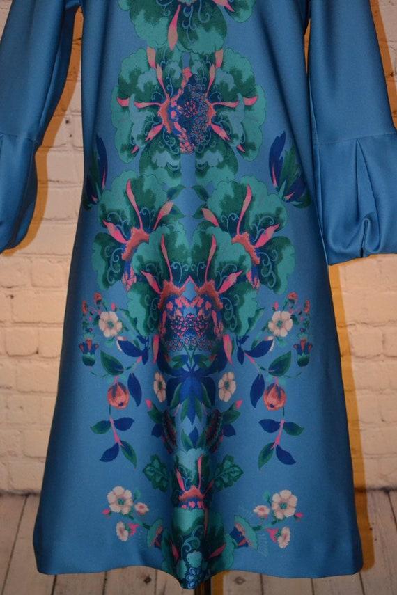 New York & Company Vintage 70 - 80s Dress Groovy … - image 4
