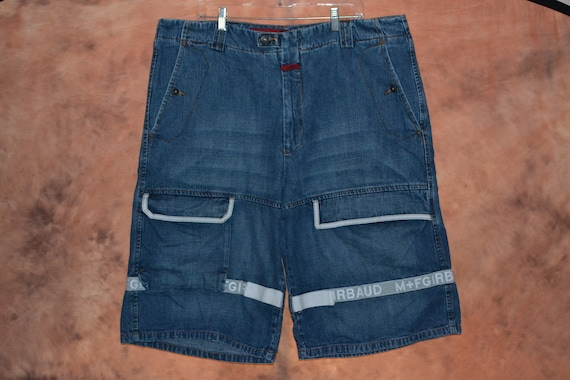 Marithe Francois Girbaud Men's Jean Shorts MFG Den