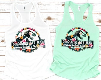 6cd0f09dc Wrong Park Mix flowers Tank, Funny Dinosaurs Eat Man Woman Inherits The  Earth Mix Flowers Tank Gift, T-Rex Mouse Disney Mickey Women's Tank