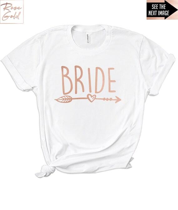 Hen Do Personnalisé T-shirt homme Parti fonte Vinyle Rose Imprimé Mariée tribu Team