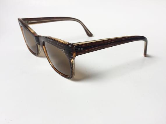 Vintage 60s Sunglasses | 60's Square Sunglasses |… - image 2