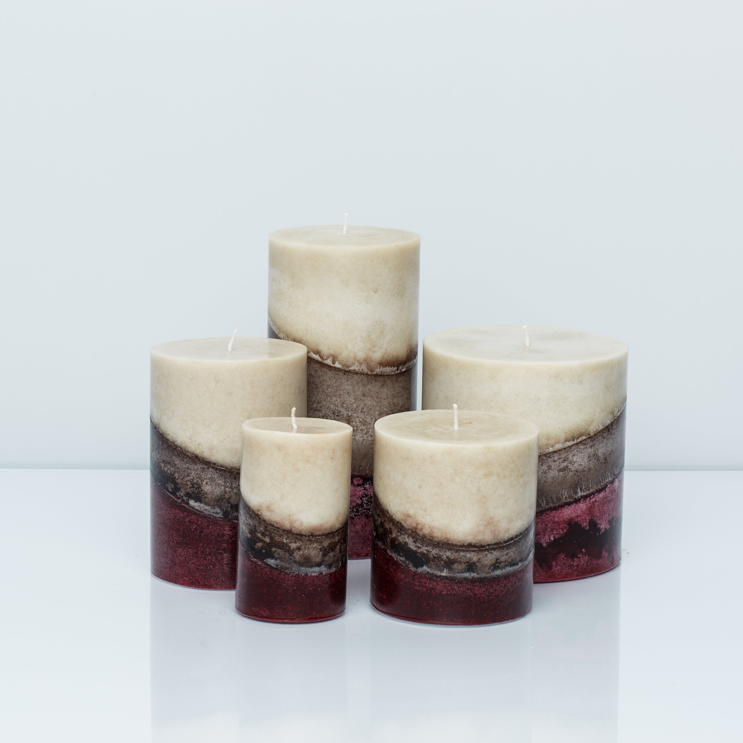 Wicks N More Evergreen Scented Candle 3x3 Pillar