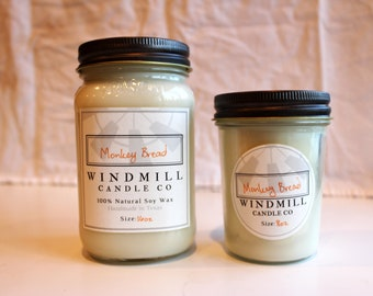 Hand Poured in CO Soy Container Candle Bakery Candle Variety Sizes Available Fresh Baked French Bread Bread Out of Oven Bread Scent