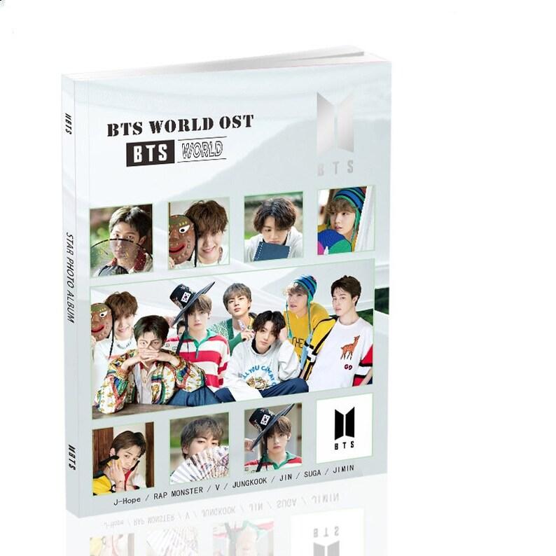 Kpop Idol Boy Band BTS Girl Group Blackpink Twice Photo Album