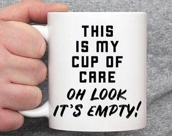 Sarkastische Kaffeetasse Etsy