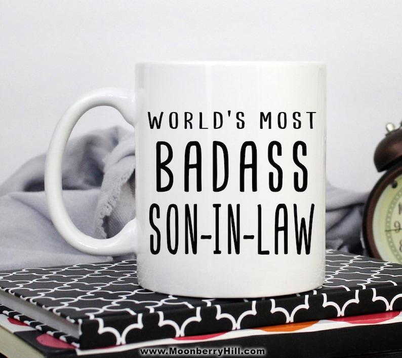 Son In Law Mug Gift For Christmas Birthday Funny
