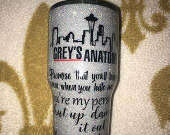 Greys Anatomy Tumbler Etsy