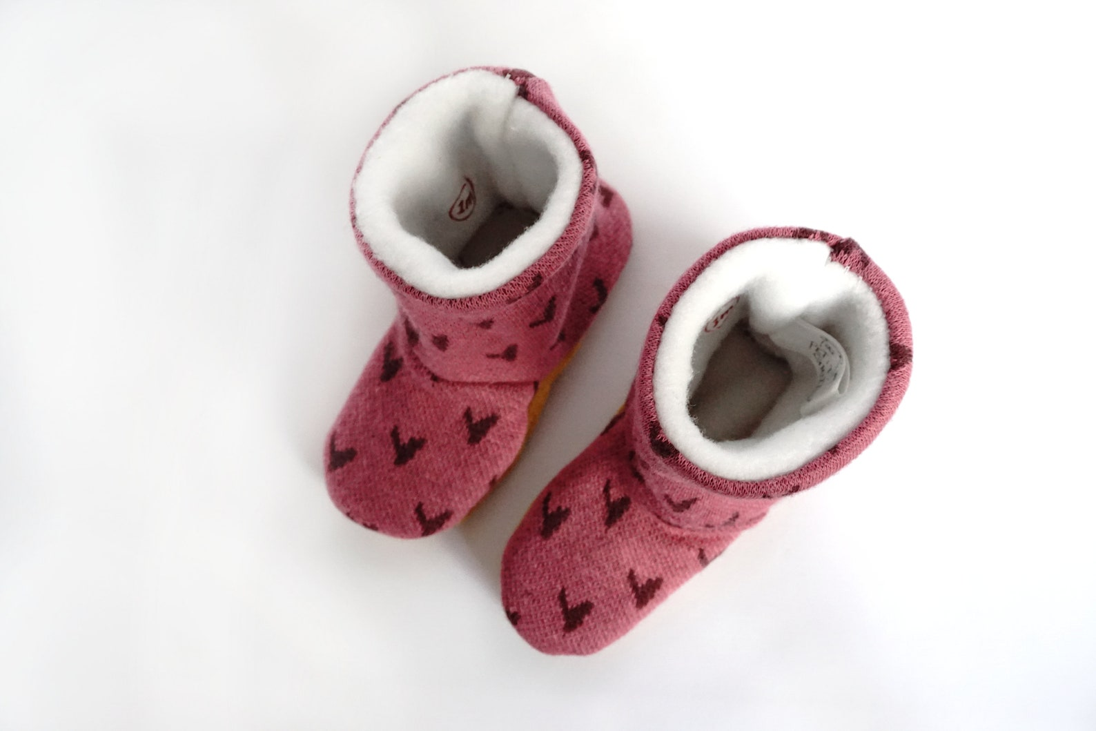 ballet shoe mittens bell hot /mitaine baby child / boy girl / organic cotton/small grizzly /shower birth gift