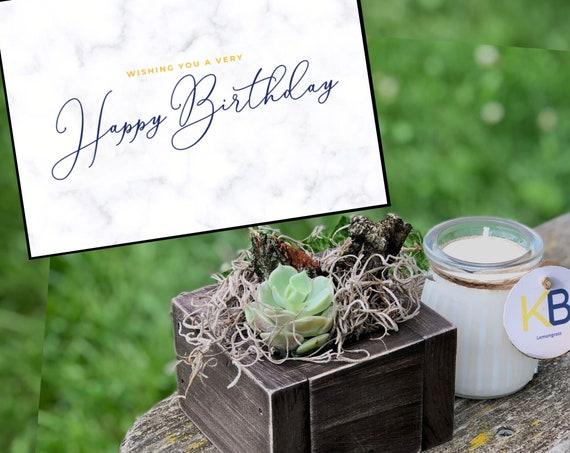 Birthday Gifts For Guys Birthday Gift Box For Him Etsy