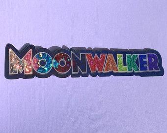 MOONWALKER (LGBT+ edition) Sticker -  MJ, Michael Jackson, King of Pop, Bad, 80s, Bumper Sticker, Vintage, Smooth Criminal, Moonwalkers