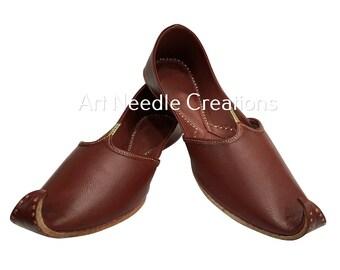 f646f2722 Handmade punjabi jutti for mens mojari khussa shoes for men flip flops  formal shoes