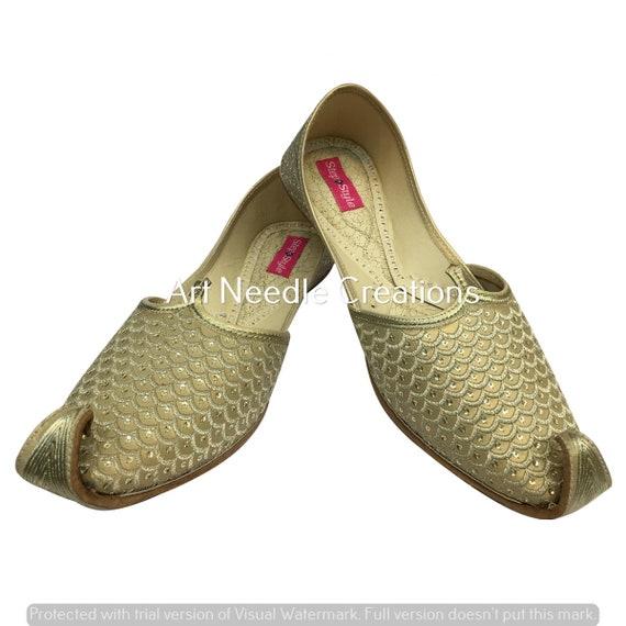 Mens Khussa Shoes Mojari Punjabi Jooti Ethnic Hippy Rajasthani Jaipuri indain shoes