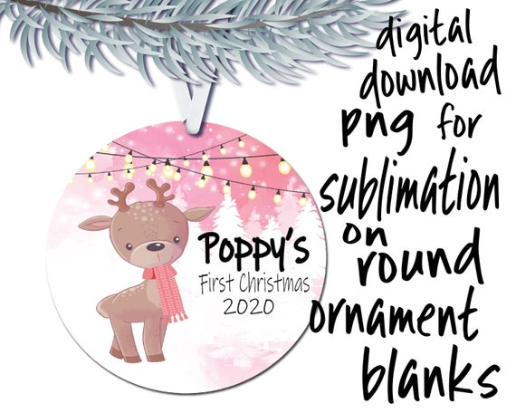 Sublimation Designs Downloads First christmas Baby girl Baby boy Baby girl Christmas Baby christmas png