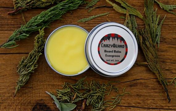 Evergreen Beard Balm Organic Handmade Beeswax Shea