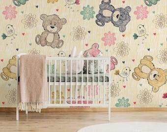 Bear Wallpaper Etsy