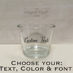 Custom Candle Tealight Holder: Personalize & Customized Wedding, Engagement, Event, Bridal, Baby Shower Party Favor, Table Centerpiece, Gift