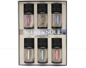 Scent and Soul - 6 x Top Picks Pure Essential Oil pack - Commercial grade - Aromatherapy -