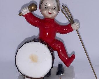 Rare Vintage Ardalt Lenwile China Hand Painted Candy DishTrinket Boxwith Handled Lid #7045 Home Decor ACATz