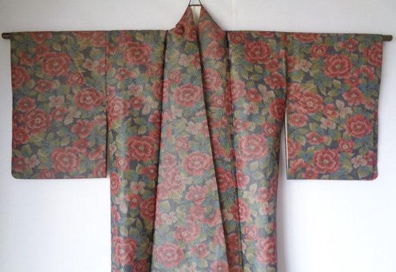 K9, Genuine Unused Kimono, Authentic Japanese Silk