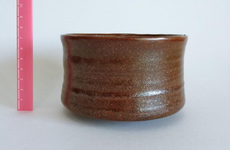 Bol à thé Chawan / Pose japonaise Stoneware Poterie artistique Chawan Matcha bol à thé, ,S2555