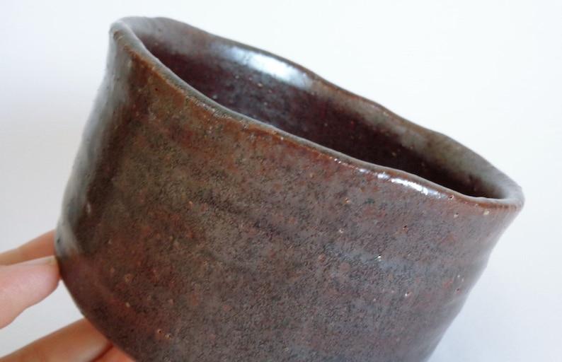 Bol à thé Chawan / Poxia ne se recensa la poterie artistique Chawan Matcha, marqué ,S2556