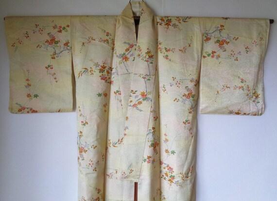 K13, Genuine Kimono, Authentic Japanese Silk Kimon