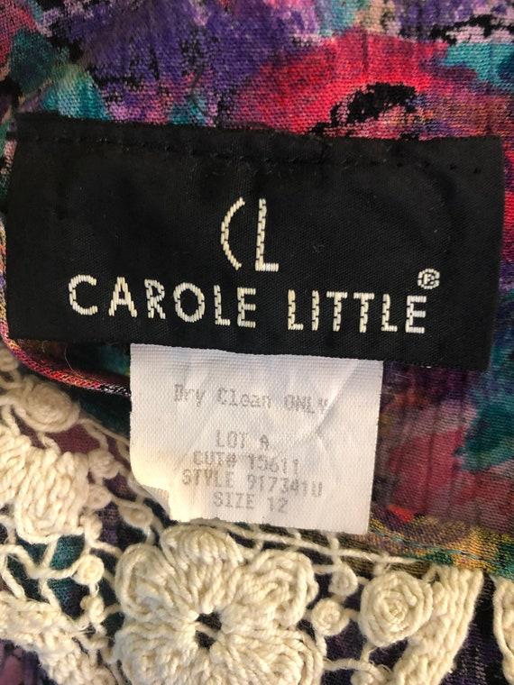 Vintage Carole Little floral dress - image 7
