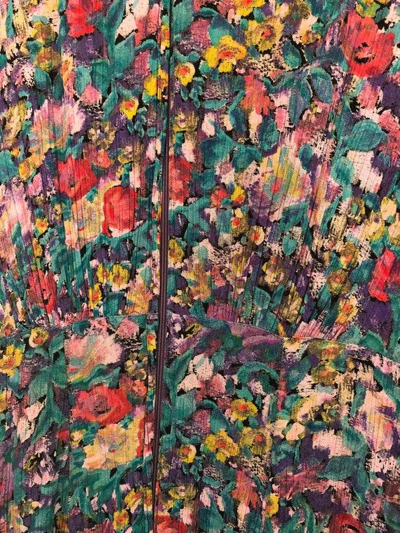 Vintage Carole Little floral dress - image 5