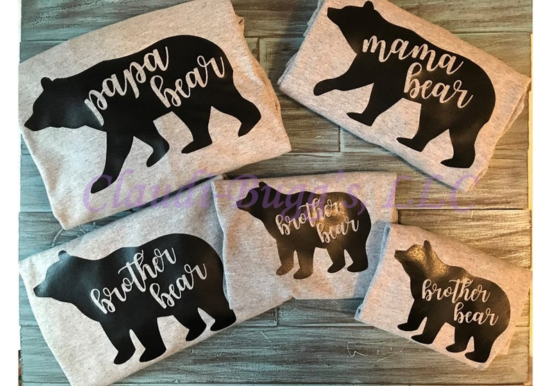 Brother Bear Raglan Brother Bear Shirt Youth Raglan Brother Shirt Sibling Shirts Youth Shirts