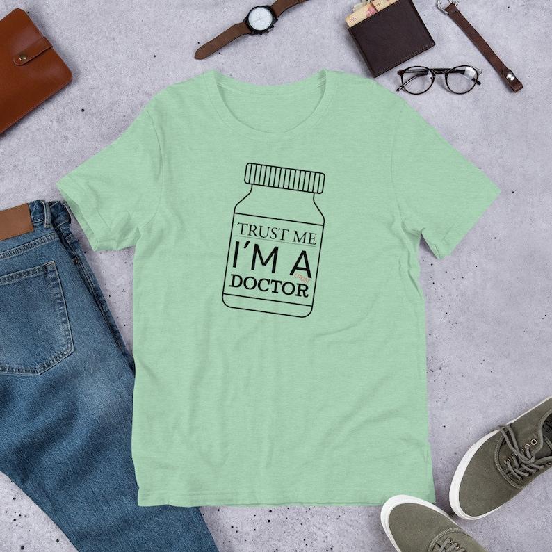 Trust Me Im A Doctor Hoodie Medic Dr Gp Surgeon Nurse Tee birthday fashion gift