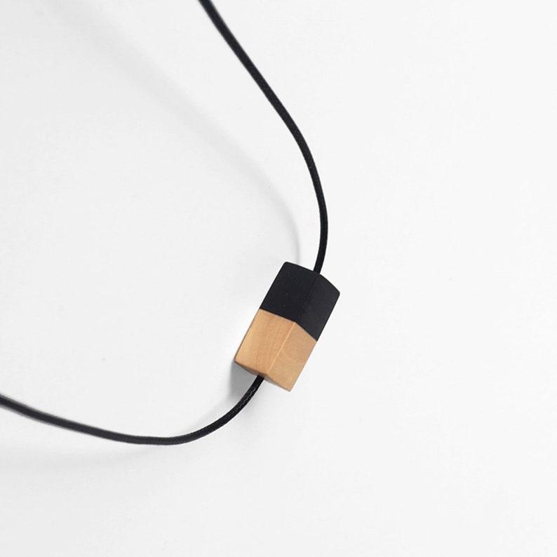 Natural Sandalwood Splice Geometric Bracelet Handmade Simple Fashion Personality Yoga Bracelets for Women Jewelry Summer Beach
