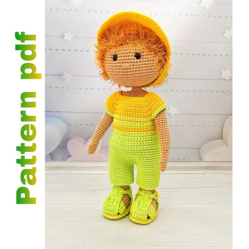 Crochet Doll Pattern | Amigurumi Doll Pattern | stuffed doll ... | 794x794