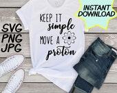 Move a Proton SVG, teacher PNG, JPEG, Teacher puns, Teachers shirts, Gifts for teachers, cricut design space