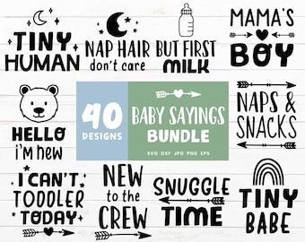 Baby Sayings SVG Bundle, Cute Toddler Svg Bundle, Kids Svg Cut Files, Bear Svg files for Cricut, Fox Svg Cut File, Koala Nursery Clipart