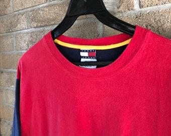 ea710c12b7 Tommy hilfiger shirt   Etsy