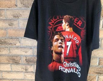 e7b1b6ff1 Vintage 03 -04  Cristiano Ronaldo Manchester United T-Shirt