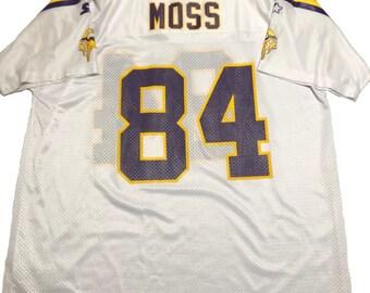 1990s Starter Randy Moss Minnesota Vikings Jersey 02beb49d1
